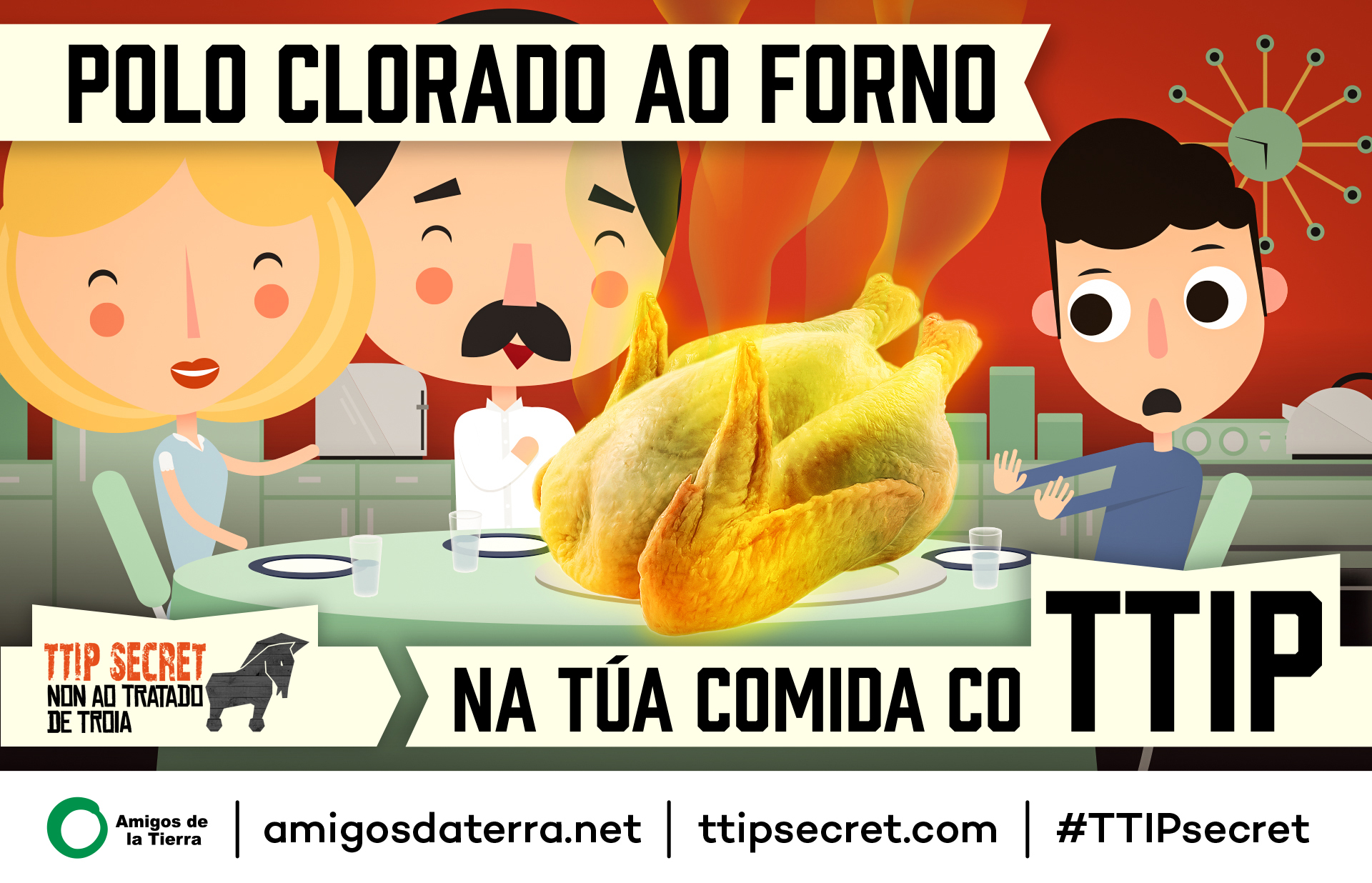 TTIP Postcard - Chicken CaptionGalician-Galego